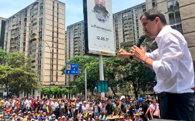 Guaidó llama a marchar para exigir cese de apoyo militar a Maduro - guaidó movilización venezuela
