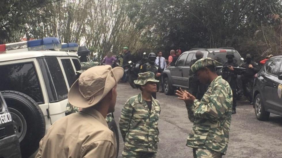 Mueren siete militares venezolanos al caer a tierra un helicóptero - Foto de @NTN24ve
