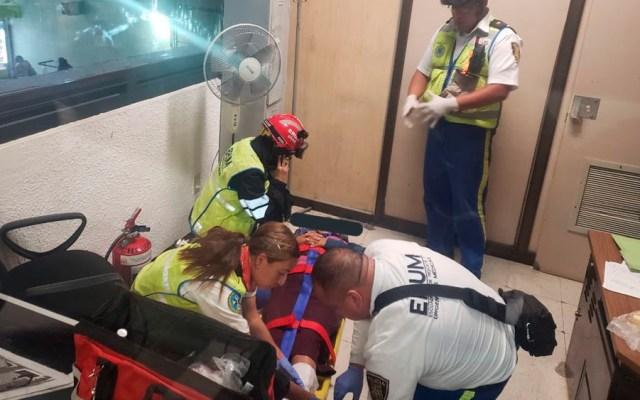 Corto circuito en Metro Chabacano deja tres heridos - heridos corto metro chabacano