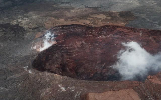 Hombre sobrevive tras caer a caldera del volcán Kilauea - hombre sobrevive caída caldera kilauea