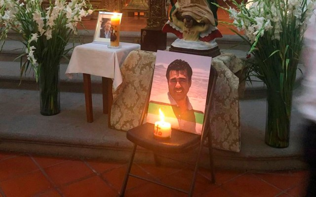 Roban a sobrino de Humberto Adame durante entierro - Humberto Adame entierro