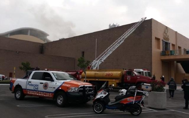 #Video Se incendia casino de centro comercial en Puebla - Incendio en casino de Puebla. Foto de @PCPueblaCapital