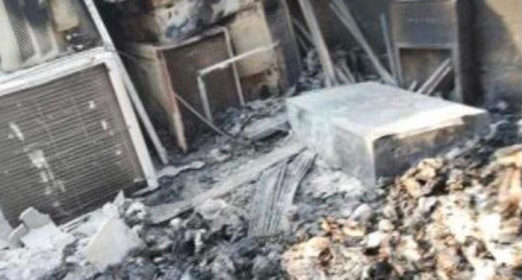 Fiscalía General de la República investiga incendio en garita de Oaxaca - incendio oaxaca