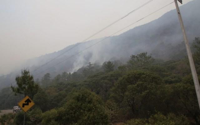 Incendio en Sierra Gorda de Querétaro pudo haber sido provocado - Foto de @SedeaQro