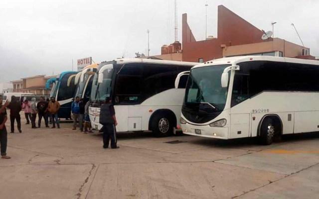 Migración sancionará a empresas que transporten indocumentados - INM advierte de multas a transportistas que trasladen a incodumentados