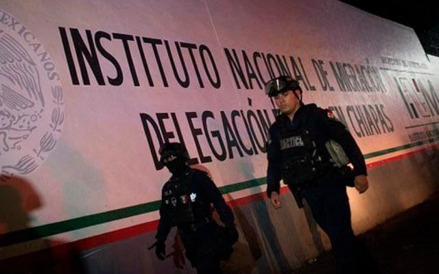 Detienen a migrantes centroamericanos en Chiapas - inm migrantes chiapas migrantes