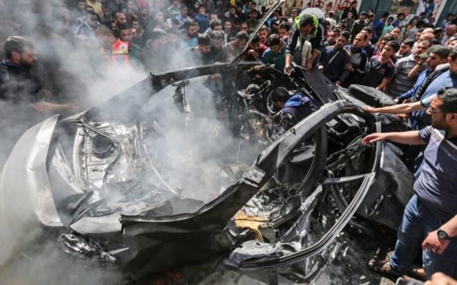 Israel mata a líder de Hamás durante bombardeo en Gaza - Israel mata a líder de Hamás durante bombardeo