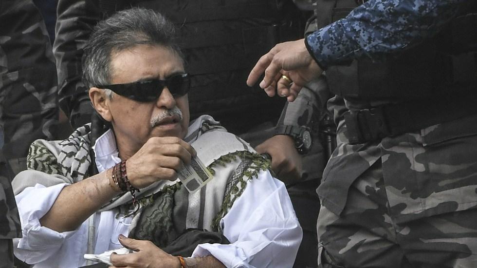 Exjefe rebelde de FARC es recapturado en Colombia a su salida de la cárcel - Foto de AFP