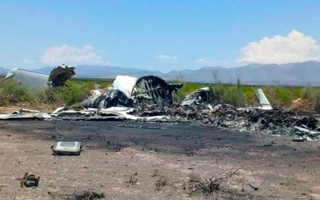 Ubican los cuerpos de las 13 víctimas del desplome de jet en Coahuila - jet