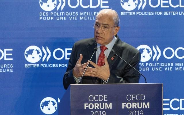 """OCDE estima crecimiento """"modesto"""" para México - Foto de Twitter José Ángel Gurría"""