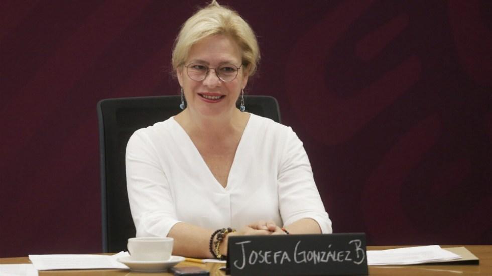 López Obrador nombra a extitular de Semarnat como embajadora en Reino Unido - Josefa Gonzalez Blanco. Foto de @Josefa_GBOM