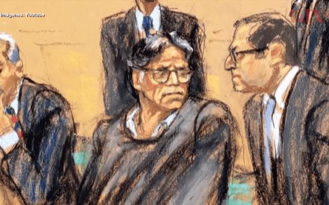 Fiscalía pide cadena perpetua para Keith Raniere, líder de Nxivm - En la foto, el juicio de Keith Raniere. Foto de YouTube