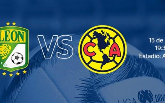 Liga MX analiza viabilidad del América vs León por contingencia - Foto de @LIGABancomerMX
