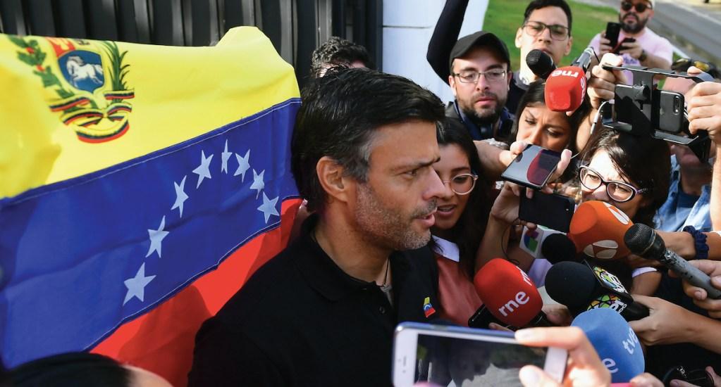 Leopoldo López no podrá pedir asilo en embajada española en Caracas - Leopoldo López