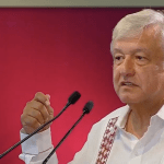 """Se acabó la pesadilla neoliberal"", dice AMLO a trabajadores petroleros - Captura de pantalla"