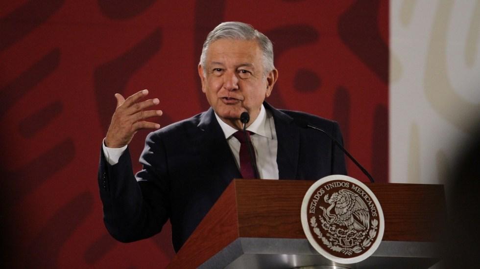 Conferencia de AMLO (06-05-2019) - Andrés Manuel López Obrador. Foto de Notimex- Guillermo Granados.