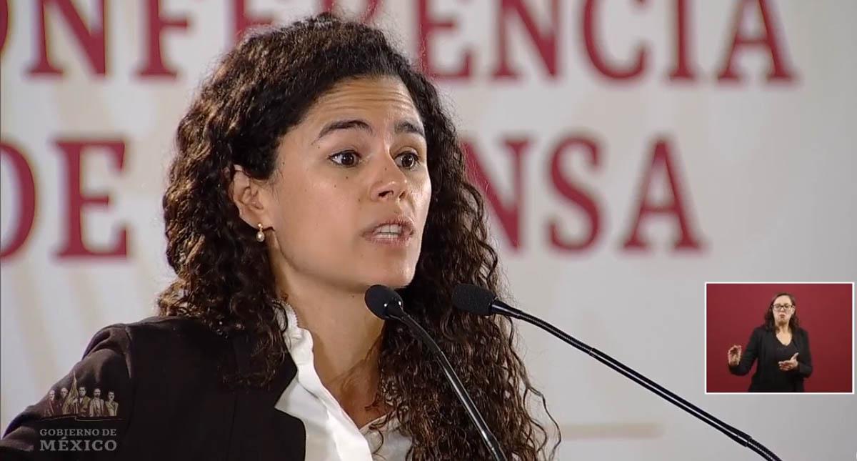 Luisa María Alcalde. Captura de pantalla