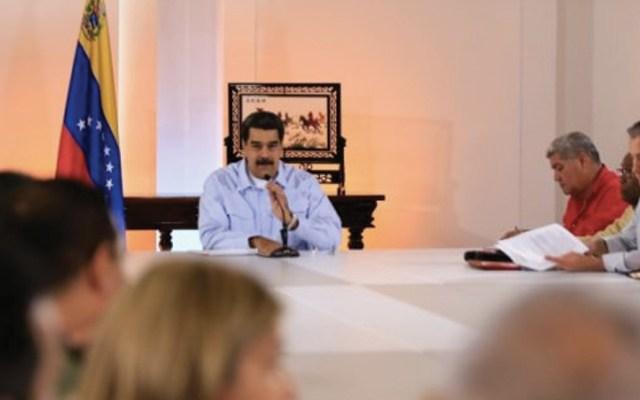"""Maduro afirma tener la """"mejor buena fe"""" antes de encuentro en Oslo - Foto de AFP"""