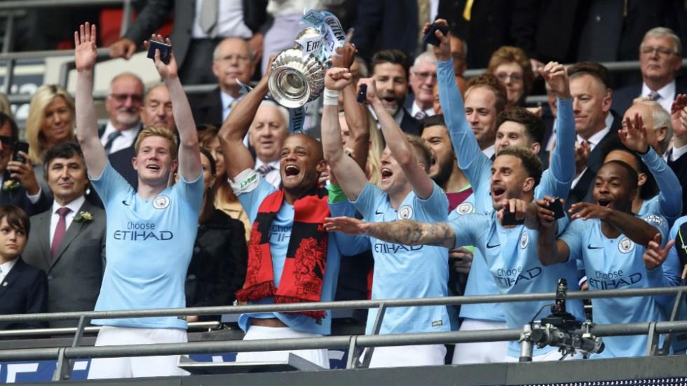 Manchester City conquista histórico triplete en Inglaterra - Foto de @ManCity