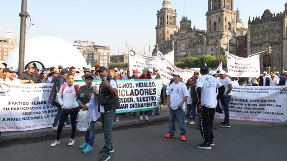 Al menos tres movilizaciones este martes en la Ciudad de México. Noticias en tiempo real