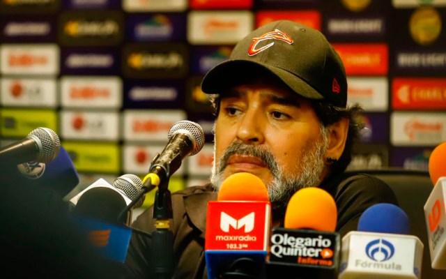 Maradona afirma que no le afecta nueva derrota contra San Luis - maradona dorados