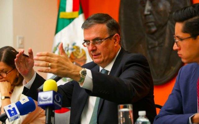 Marcelo Ebrard presenta programa para Centroamérica en la Casa Blanca - Foto de @SRE_mx