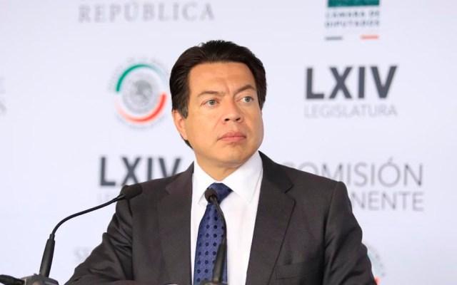 Mario Delgado confirma interés por dirigir Morena - mario delgado diputados