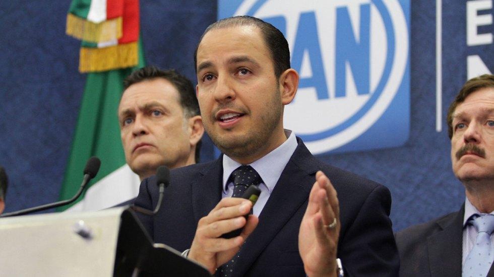 Presidente del PAN exige transparencia sobre la crisis que vive el IMSS - Marko Cortés