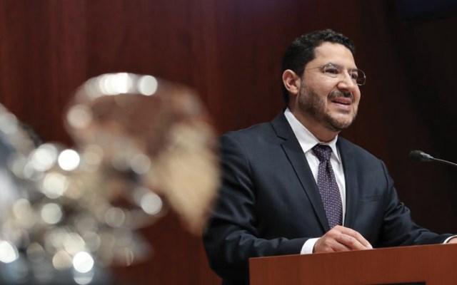 Monreal debe renunciar a coordinación de Morena en el Senado: Batres - martí batres