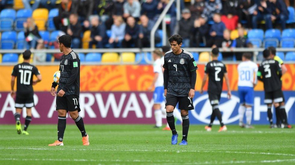 México debuta con derrota en Mundial Sub-20 - Foto de Notimex