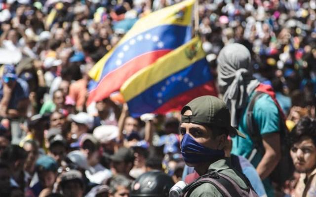 Crisis de Venezuela necesita más recursos: UE y ONU - Movilización en Venezuela. Foto de @jguaido crisis