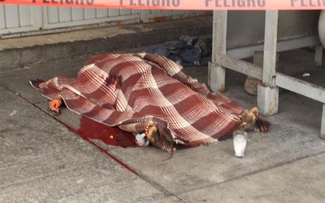 Asesinan a mujer indigente en la Central de Abasto - muerte mujer central de abasto