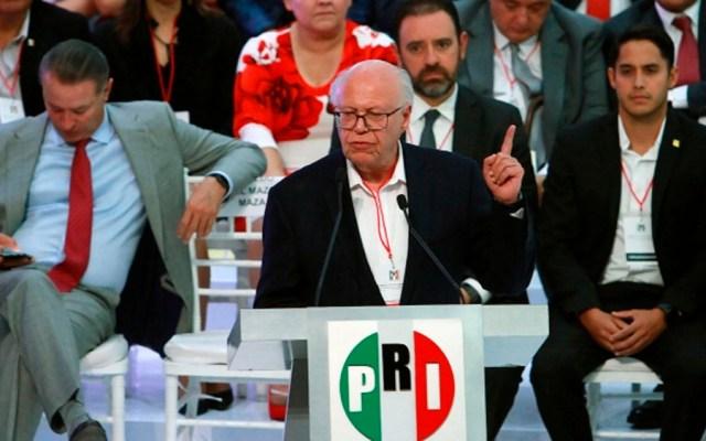 Seguiré en la búsqueda de la dirigencia del PRI: Narro - narro pri