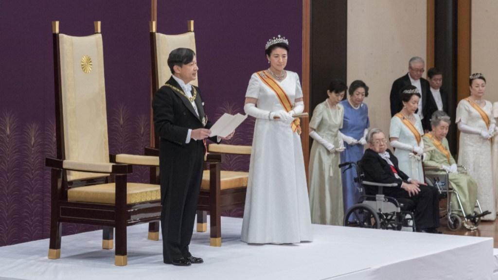 Naruhito se convierte en emperador de Japón - Naruhito nuevo emperador de Japón