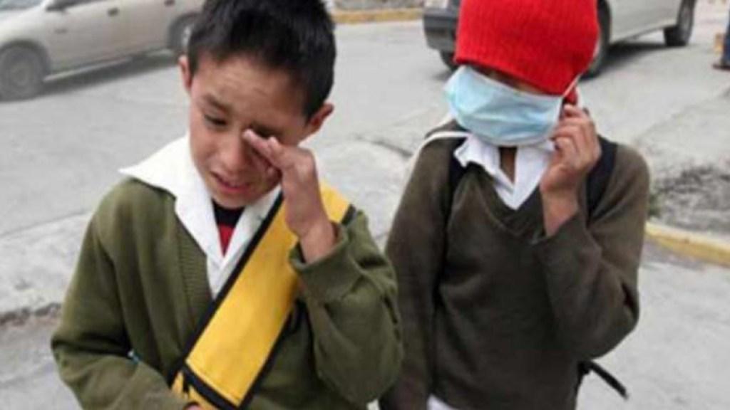Mueren mil 680 niños pequeños al año por contaminación en México - Foto de Enfoque Noticias
