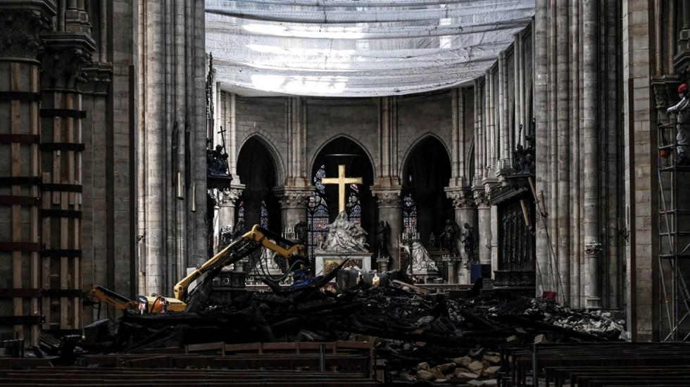Todavía no se sabe si habrá dinero suficiente para reconstrucción de Notre Dame - notre dame