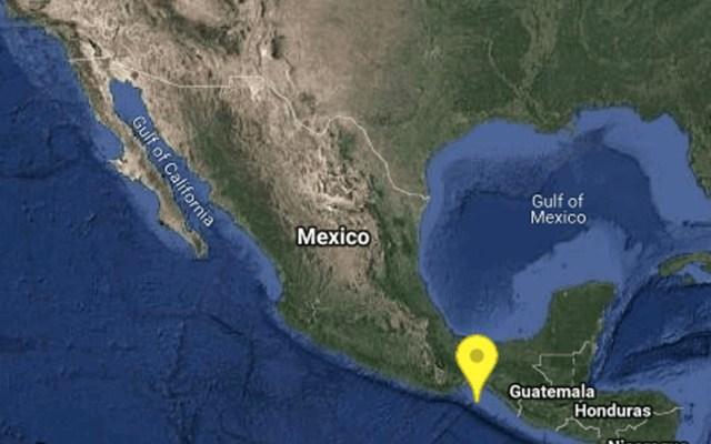 Sismo magnitud 4.9 sacude Oaxaca - Foto de SSN/Inegi