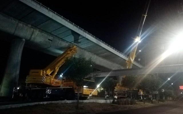 Reabren Periférico tras obras en puente peatonal - obras puente peatonal periférico