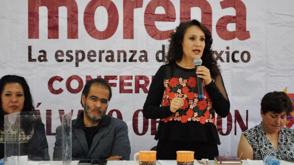 Padierna y Bejarano promoverán con pláticas Plan Nacional de Desarrollo - Foto de @Dolores_PL
