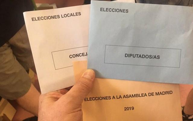España realiza tres votaciones en una - En España hay votaciones municipales, regionales y para la Eurocámara. Foto de @jesusmarana