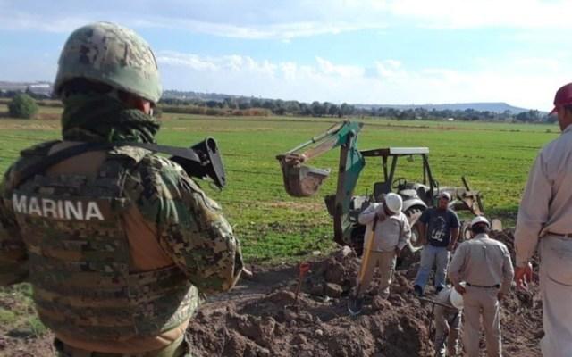 Muere marino durante enfrentamiento en ducto  Tuxpan-Azcapotzalco - ducto