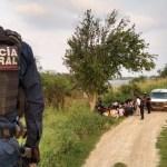Rescatan a 124 migrantes a orillas del Río Bravo - Foto de @PoliciaFedMx