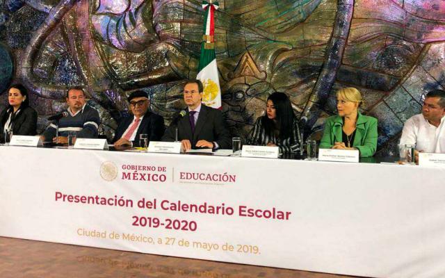 SEP presenta calendario escolar 2019-2020 - presentacion-calendario-escolar