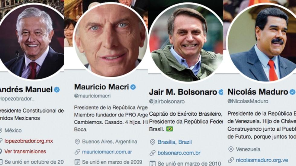 Los 10 presidentes latinoamericanos más populares en Twitter