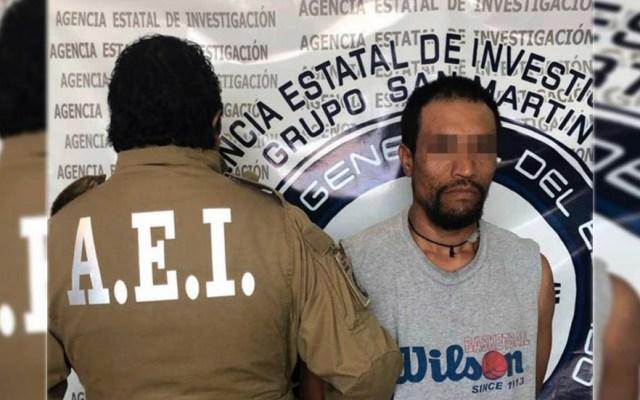 Detienen a sujeto por balear la casa de su ex pareja en Puebla - Puebla El Chilaquil casa ex pareja