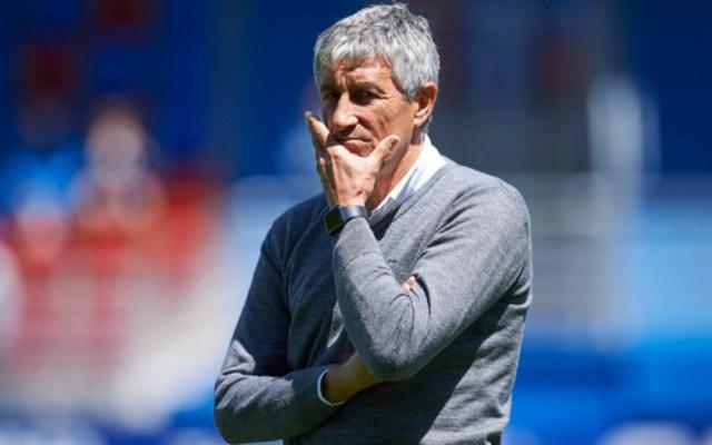 Real Betis confirma la salida de Quique Setién - Quique Setién sale del Real Betis