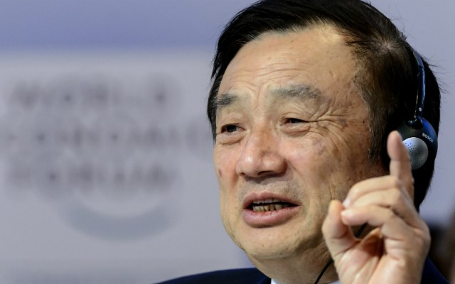 """Fundador de Huawei considera que EE.UU. """"subestima"""" su empresa - Foto de AFP"""