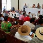 Instauran acuerdos con pueblos indígenas para Desarrollo del Istmo - Reunión con representantes de pueblos indígenas. Foto de @INPImx