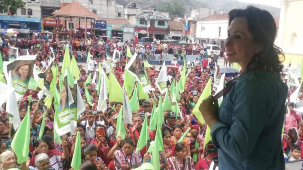 Dejan en suspenso proceso para quitar fueros a candidata presidencial de Guatemala. Noticias en tiempo real