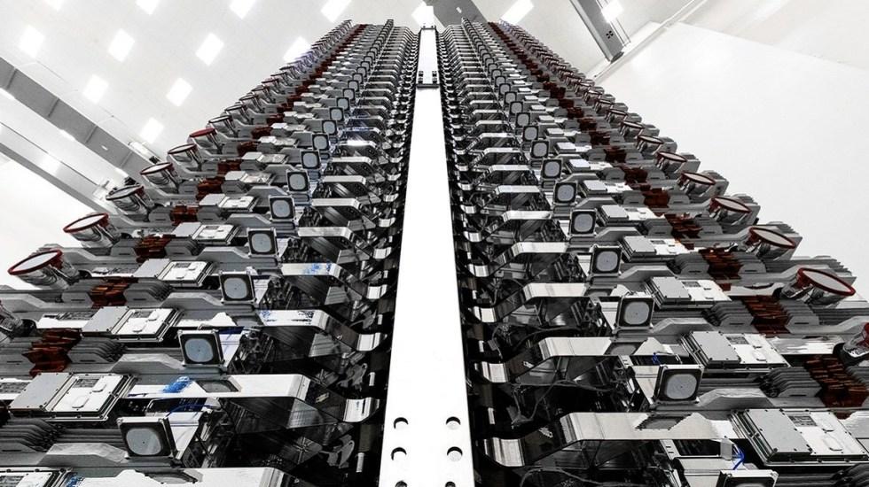 #Video SpaceX lanza 60 satélites para crear red de internet - Satélites de Starlink. Foto de @SpaceX